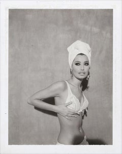 Sky N. for Amiga Milan, Fashion Photography, Original Polaroid