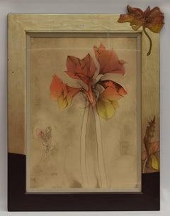 Flowers - figurative jugendstil frame special