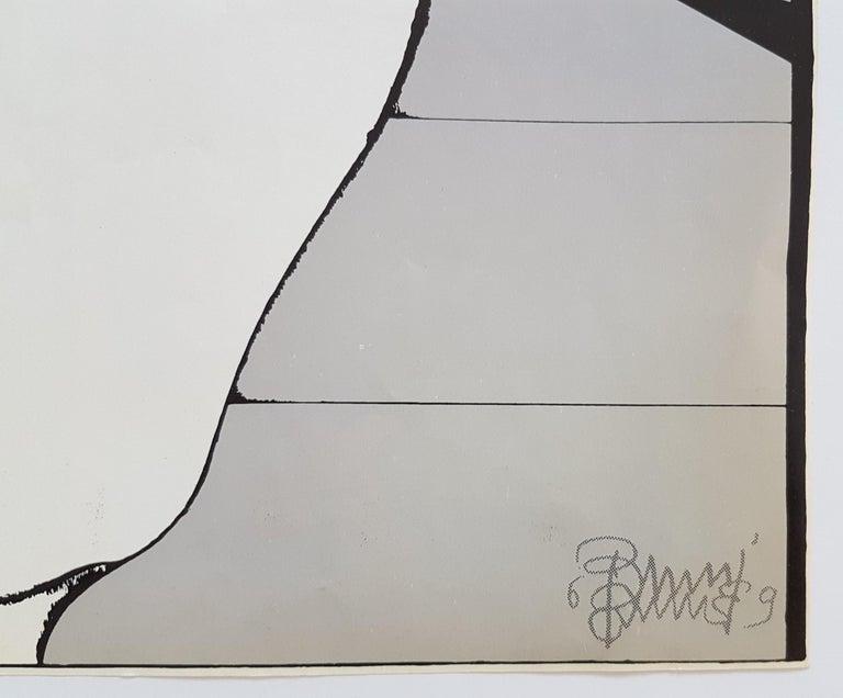 Il Cappotto - Modern Print by Bruno Bruni