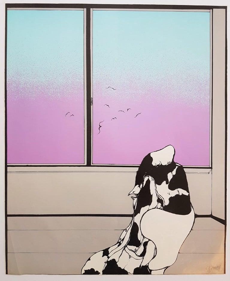Il Cappotto - Print by Bruno Bruni