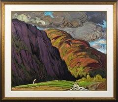 Grandes Bergeronnes - late 20th century expressionistic landscape
