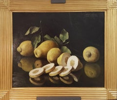 Still Life with Citrons - 1940s - Bruno Croatto - Painting - Modern