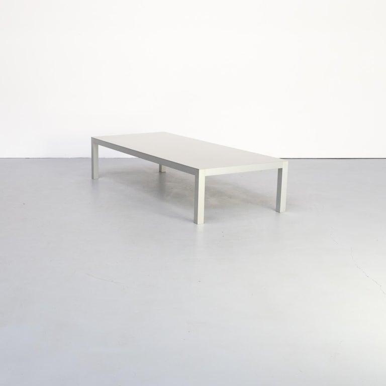 Modern Bruno Fattorini Metal 'LIM' Coffee Table for MDF Italia For Sale