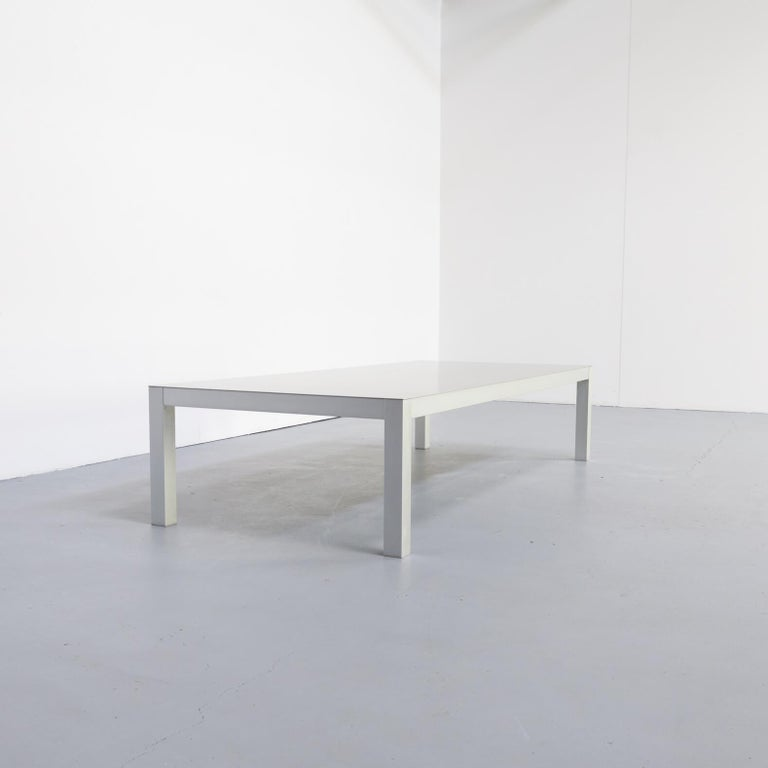 Bruno Fattorini Metal 'LIM' Coffee Table for MDF Italia In Good Condition For Sale In Amstelveen, Noord