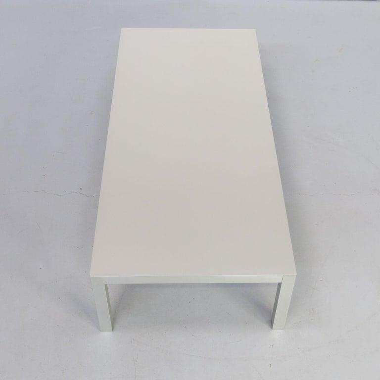 Contemporary Bruno Fattorini Metal 'LIM' Coffee Table for MDF Italia For Sale