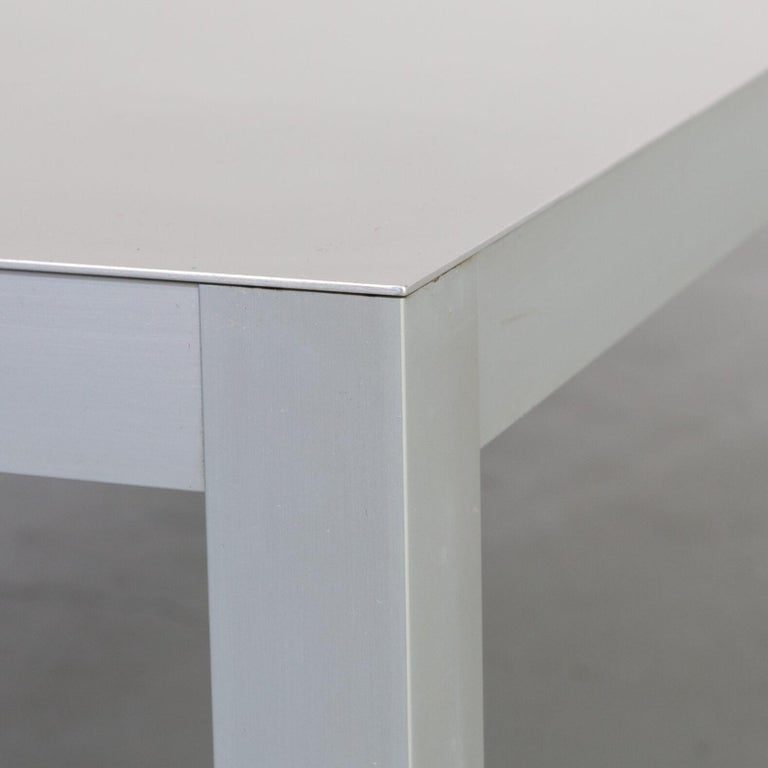 Bruno Fattorini Metal 'LIM' Coffee Table for MDF Italia For Sale 1