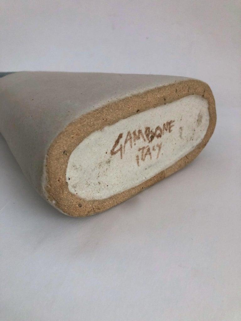 Bruno Gambone Ceramic Vase, 1970s For Sale 1