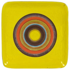 Bruno Gambone Ceramic Wall Decoration or Tray, 1970s