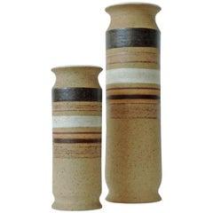 Bruno Gambone Pair of Vases