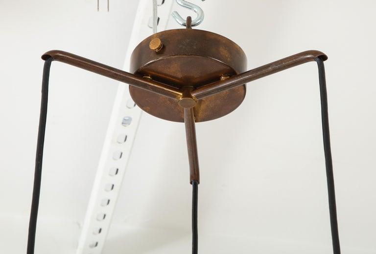 Bruno Gatta for Stilnovo Chandelier Model 1158 For Sale 4