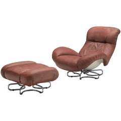 Animal Skin Lounge Chairs