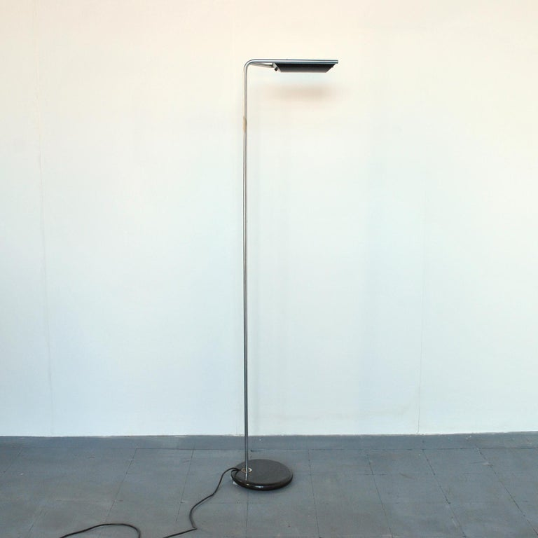 Italian midcentury floor lamp by Bruno Gecchelin design for Guzzini Italia, 1970s.