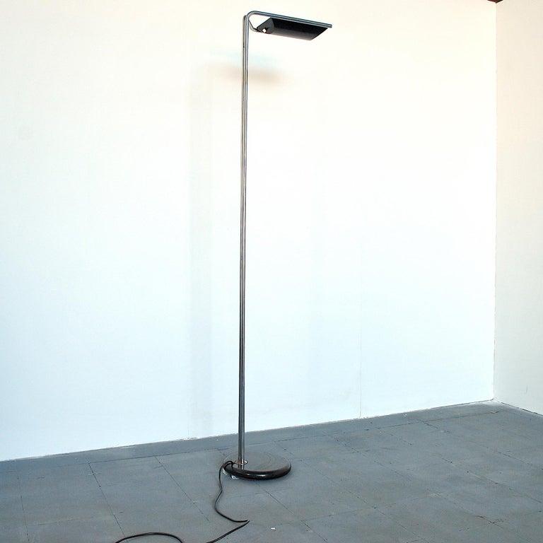Bruno Gecchelin Italian Midcentury Floor Lamp In Good Condition For Sale In bari, IT