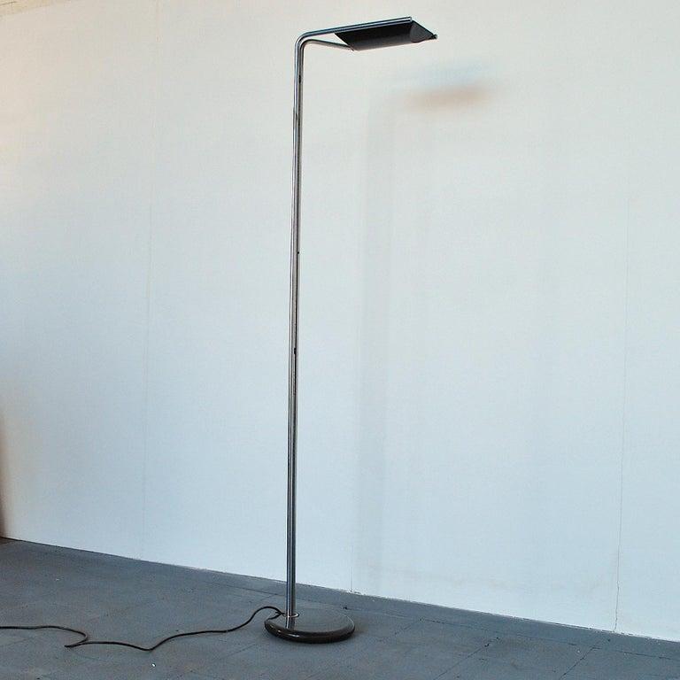 Late 20th Century Bruno Gecchelin Italian Midcentury Floor Lamp For Sale