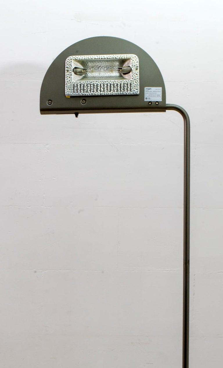 Bruno Gecchelin Mid-Century Modern 'Mezzaluna' Floor Lamp for Skipper Pollux For Sale 6