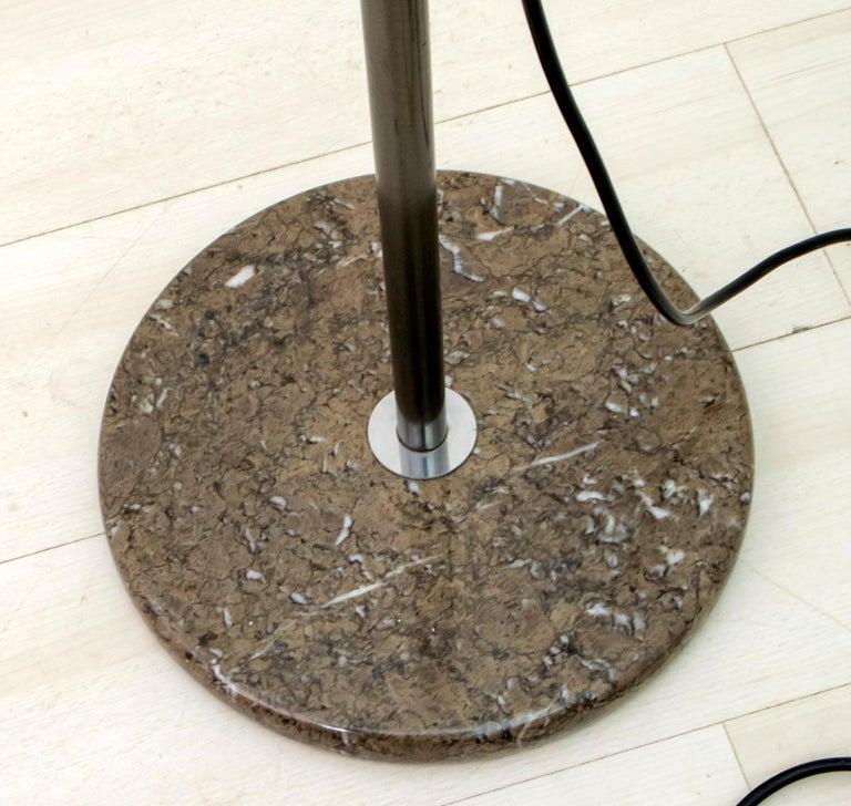 Bruno Gecchelin Mid-Century Modern 'Mezzaluna' Floor Lamp for Skipper Pollux For Sale 7