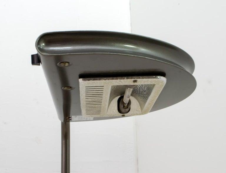 Bruno Gecchelin Mid-Century Modern 'Mezzaluna' Floor Lamp for Skipper Pollux For Sale 3