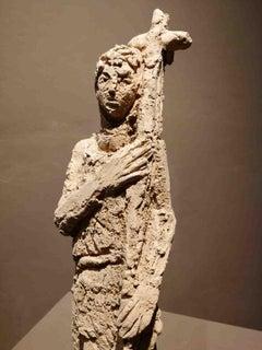 Bruno Innocenti, John The Baptist, 20th, terracotta