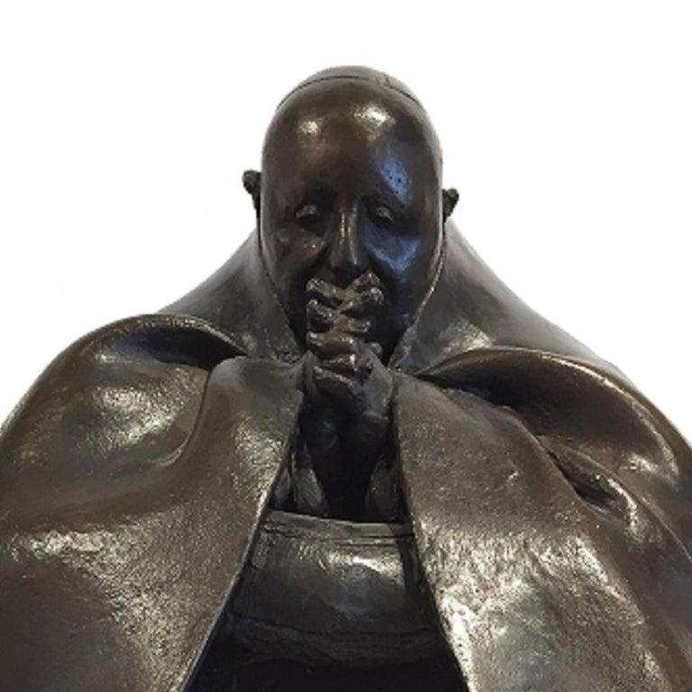 Pope John XXIII - Sculpture by Bruno Lucchesi