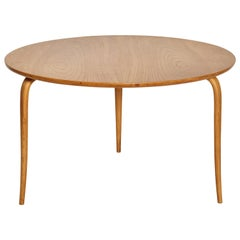 Bruno Mathsson Annika Coffee Table, Made by Karl Mathsson, Sweden, 1940s-1950s
