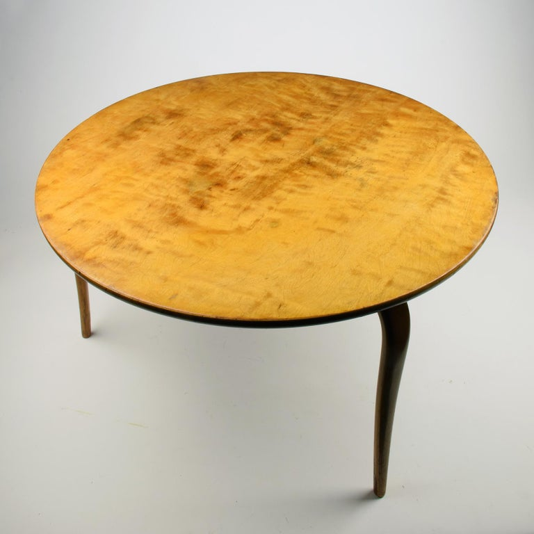 Mid-Century Modern Bruno Mathsson, 'Annika' Table, Designed 1936, Beautiful Early Example For Sale