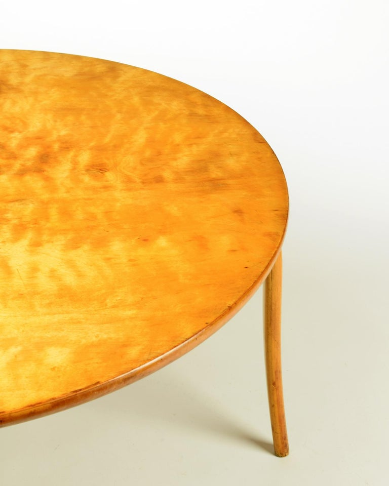 Bruno Mathsson, 'Annika' Table, Designed 1936, Beautiful Early Example In Good Condition For Sale In London, GB