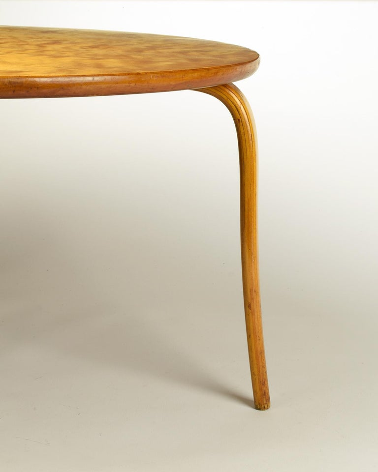 Mid-20th Century Bruno Mathsson, 'Annika' Table, Designed 1936, Beautiful Early Example For Sale