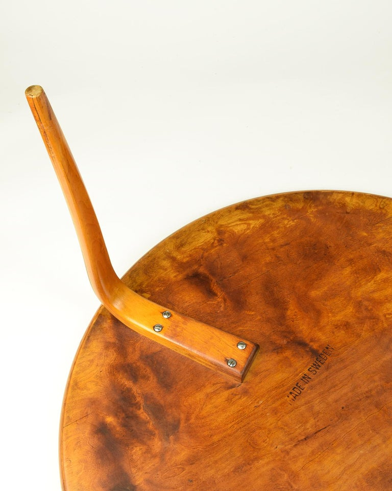 Birch Bruno Mathsson, 'Annika' Table, Designed 1936, Beautiful Early Example For Sale