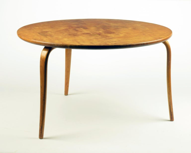 Bruno Mathsson, 'Annika' Table, Designed 1936, Beautiful Early Example For Sale 1