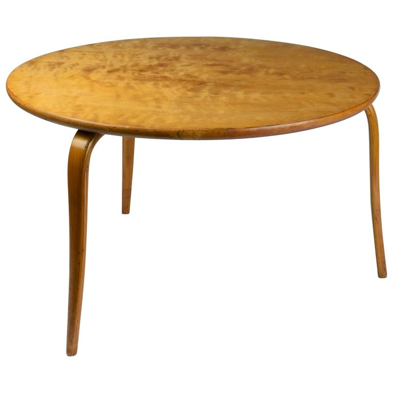 Bruno Mathsson, 'Annika' Table, Designed 1936, Beautiful Early Example For Sale