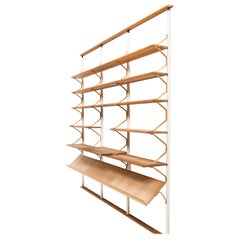 Bruno Mathsson Bookcase Produced by Karl Mathsson in Värnamo, Sweden