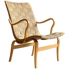 Bruno Mathsson Eva Armchair by DUX, Sweden, circa 1970s