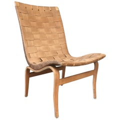 "Bruno Mathsson ""Eva"" Model Birch and Hemp Armchair Karl Mathsson, Sweden, 1943"