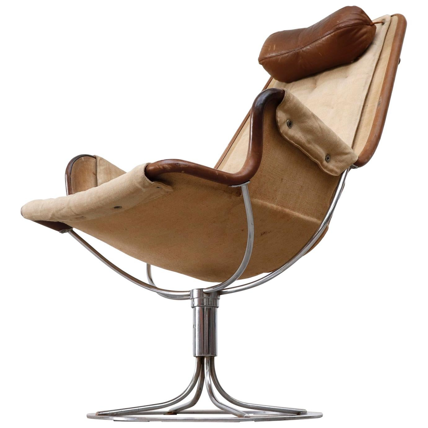 Jetson Lounge Chair and Footstool