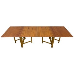 Bruno Mathsson 'Maria' Teak Extendable Dining Table