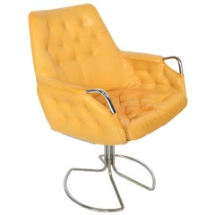 Bruno Mathsson Milton Swivel Lounge Chair Model Mi 441
