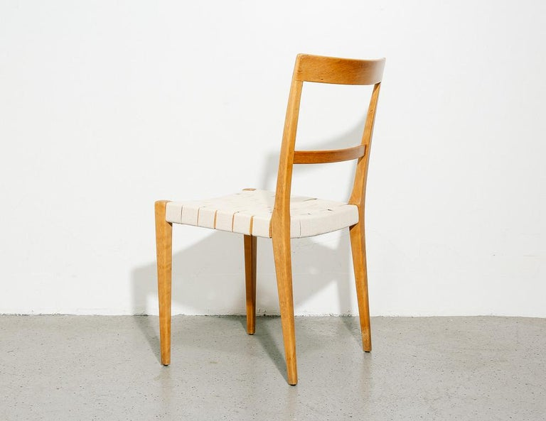 Canvas Bruno Mathsson 'Mimat' Chairs For Sale