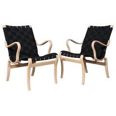 Bruno Mathsson Mina Lounge Chairs