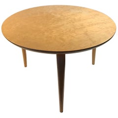 Bruno Mathsson Small Annika Table in Bird's-Eye Maple