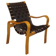 Bruno Mathsson Style Bentwood Recliner