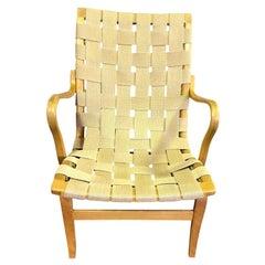 Bruno Mathsson Swedish Designer Original Midcentury Bent Beechwood Eva Armchair