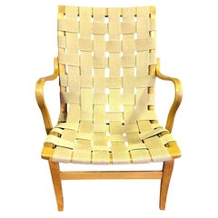Bruno Mathsson Swedish Designer Original Midcentury Bent Beechwood Eva Armchair