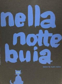 Nella Notte Buia / dans la nuit noire