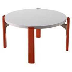 Bruno Rey for Dietiker Round Coffee Table