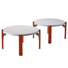 Bruno Rey for Dietiker Round Coffee Tables