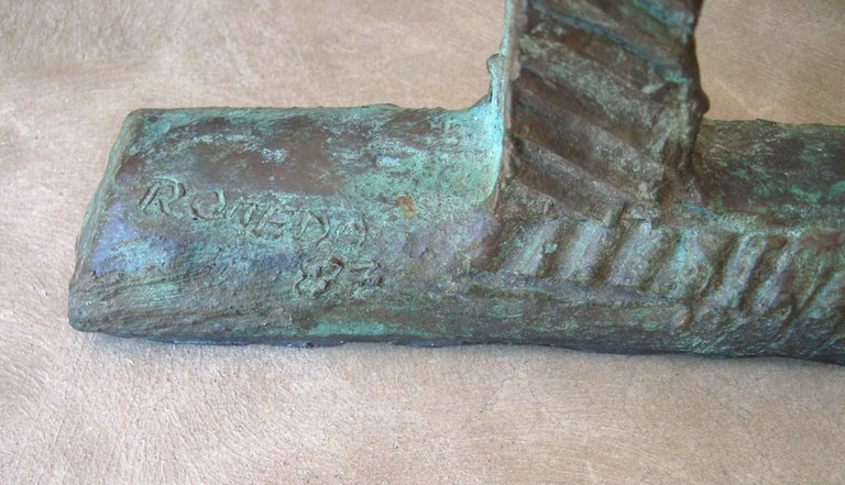 This is an amazing sculpture by the well known artist Bruno Romeda, signed and dated 1987, edition 1/3.
