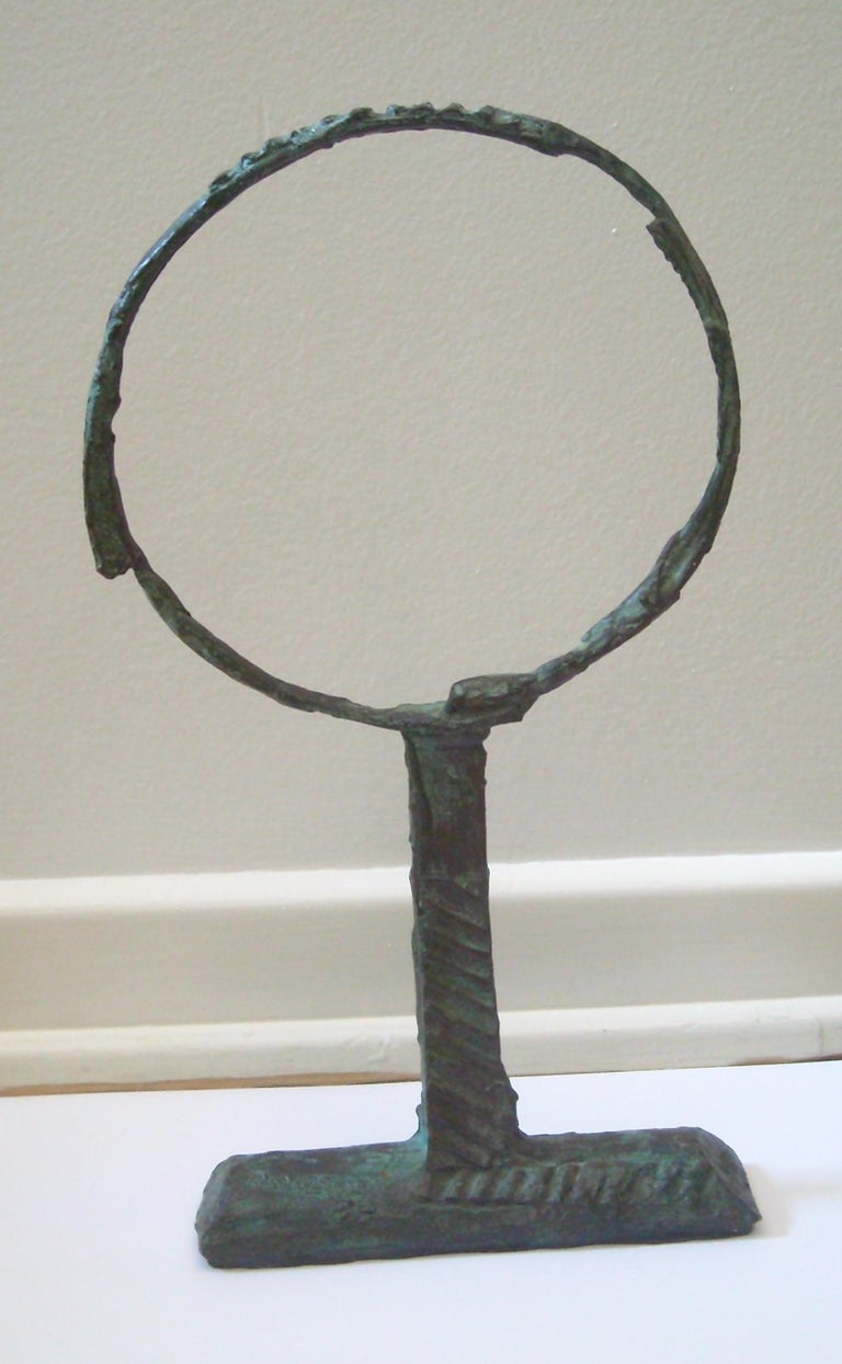 Bruno Romeda Bronze, Signed, Dated 1987 In Excellent Condition For Sale In Los Angeles, CA