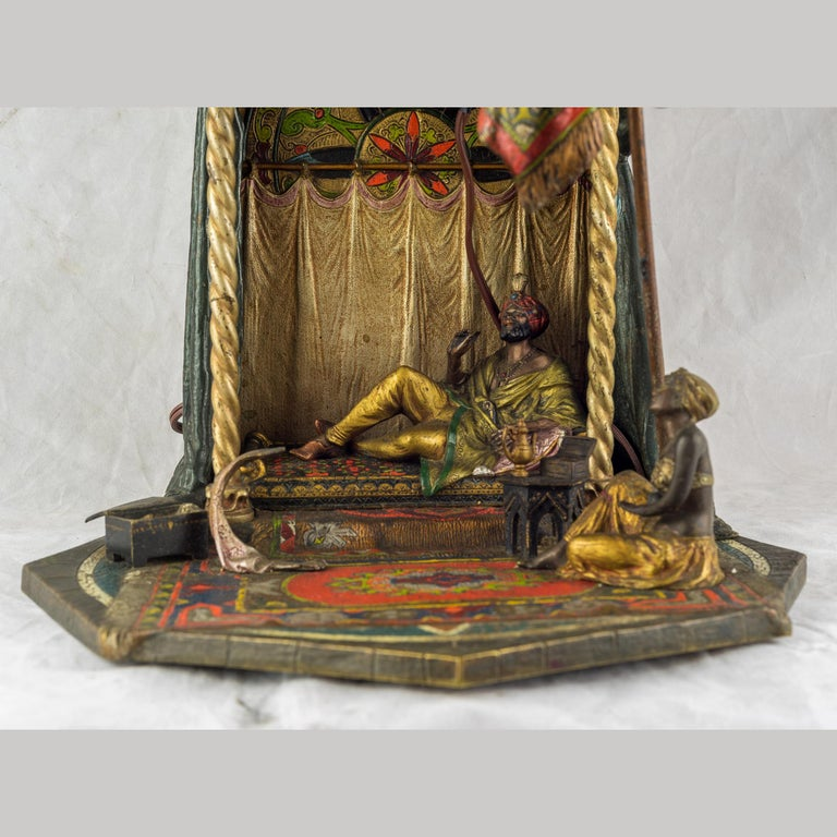 Austrian Cold Painted Bronze by Bruno Zach For Sale 1