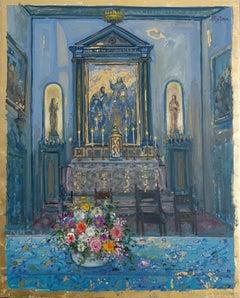"""Interior of Church of San Giacometti"""