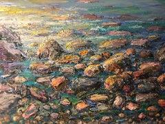 """Morning Light, Rocks and Sea"""